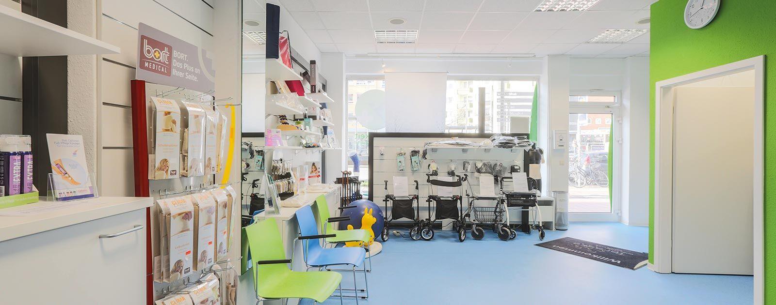 Teraske Sanitätshaus Sortiment in Hannover Vahrenwald