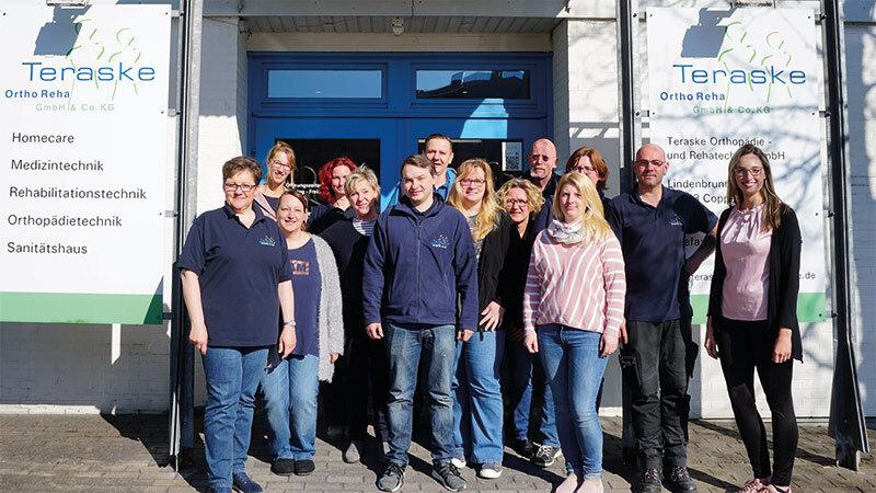 Teraske Reha und Orthopädietechnik Team in Coppenbrügge