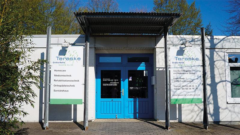 Teraske Reha Eingang in Coppenbrügge