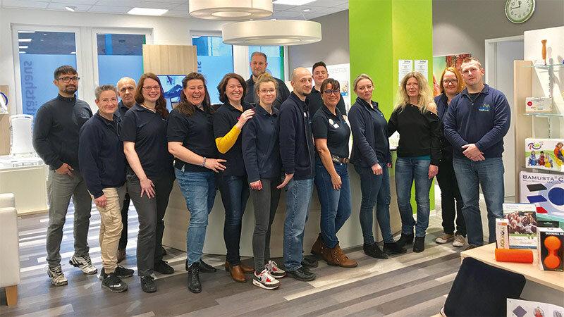 Teraske Sanitätshaus Team in Garbsen am Planetencenter
