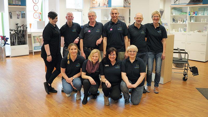 Teraske Sanitätshaus Team in Hameln