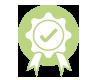 Teraske Sanitätshaus Icon Kompetenzen Haken Preisschleife