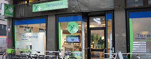 Teraske Sanitätshaus Filiale Falkenstraße Außenansicht