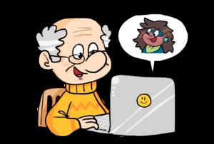 Comicbild Beratungschat