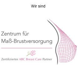 Logo Zertifiziertes Zentrum für Maß-Brustversorgung